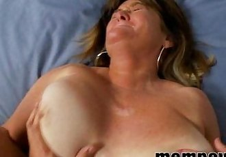 big tit milf gets slammed - 5 min