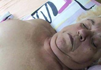 Very old Granny masturbate with Mature Nurse