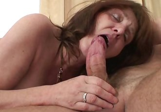 Big boobs mother in law taboo cock riding