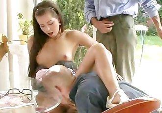 Lovely wife rides stranger\