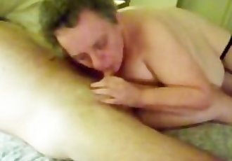 Granny Blows Her Partner