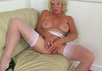 British milf Molly is sexy and she knows it