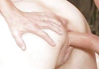 Sex hungry granny fucks stud
